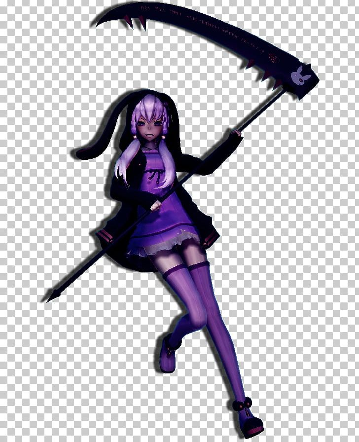MikuMikuDance Hatsune Miku Yuzuki Yukari Vocaloid Scythe PNG
