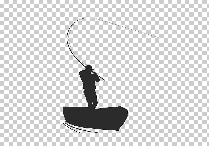 Fishing Silhouette Fisherman Png Clipart Black Black And White Boat Encapsulated Postscript Fisherman Free Png Download