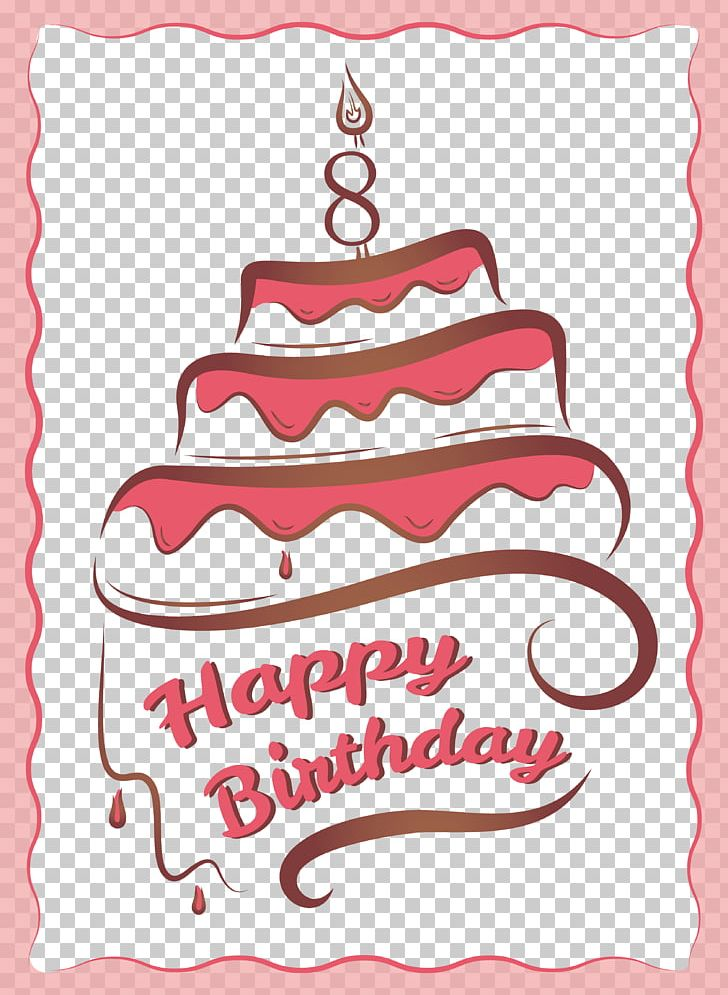 Birthday Cake Greeting Card Birthday Card PNG, Clipart, Area