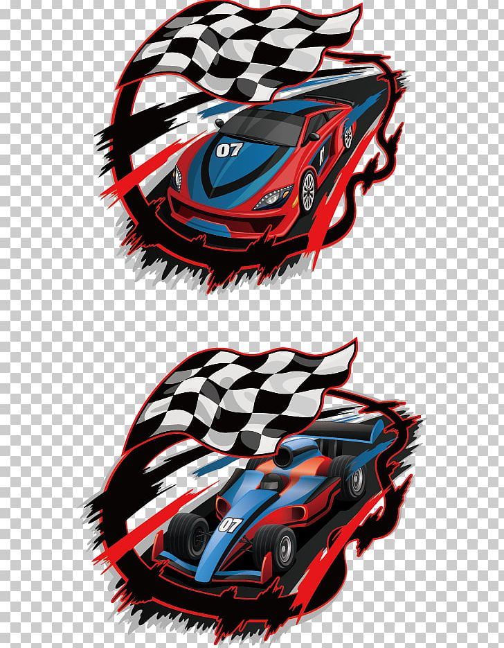 Auto Racing Racing Flags Race Track PNG, Clipart, Cartoon