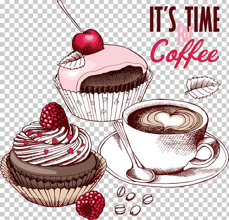Coffee Fruitcake Cupcake Chocolate Cake Tea Png Clipart Baking Butt Cake Coffee Cake Cream Free Png