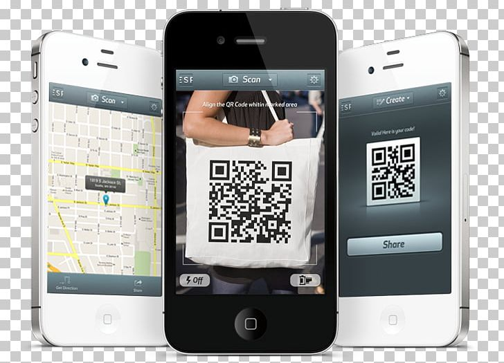 Smartphone Feature Phone QR Code Barcode Scanners PNG