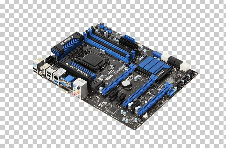 Intel LGA 1155 Motherboard MSI Z77A-GD65 PNG, Clipart, Atx, Computer Component, Computer Cooling, Computer Hardware, Cpu Free PNG Download