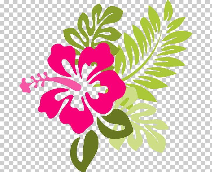 Hawaiian Flower Png Clipart Artwork Cartoon Hibiscus Computer