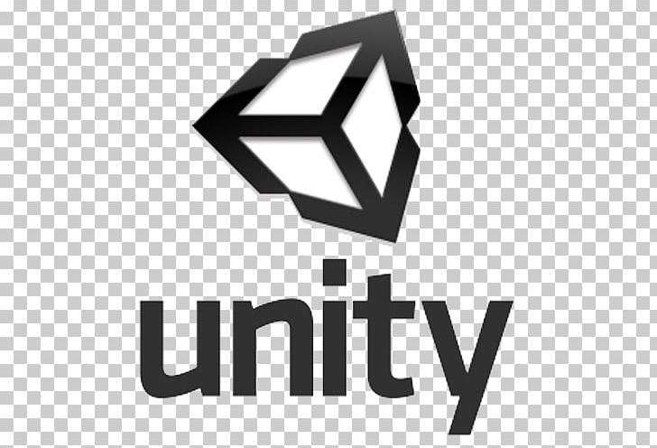 Unity Game Engine Logo Video Game PNG, Clipart, 3 D Logo, Angle, Black And White, Brand, Computer Icons Free PNG Download