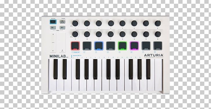 MIDI Controllers Arturia Sound Synthesizers Software Synthesizer