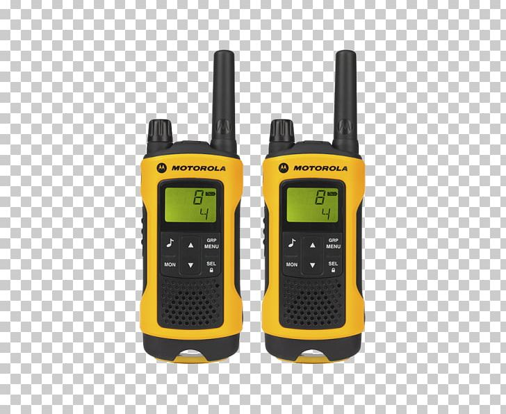 Walkie-talkie PMR Handheld Transceiver Motorola TLKR T80 2-piece Set Two-way Radio PMR446 PNG, Clipart, Amazoncom, Citizens Band Radio, Communication Device, Electronic Device, Family Radio Service Free PNG Download