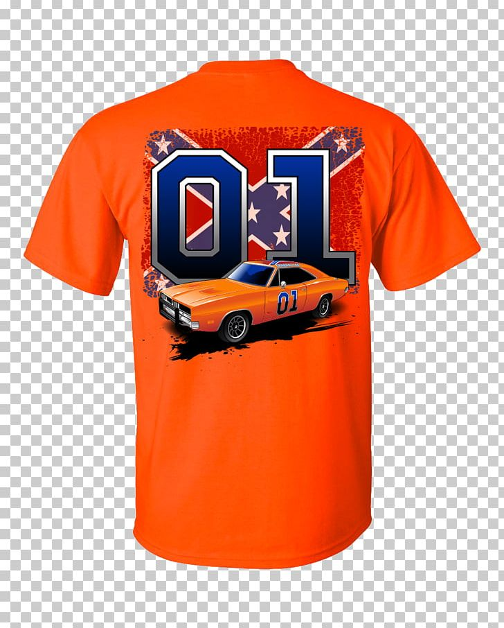 T-shirt General Lee Flags Of The Confederate States Of America