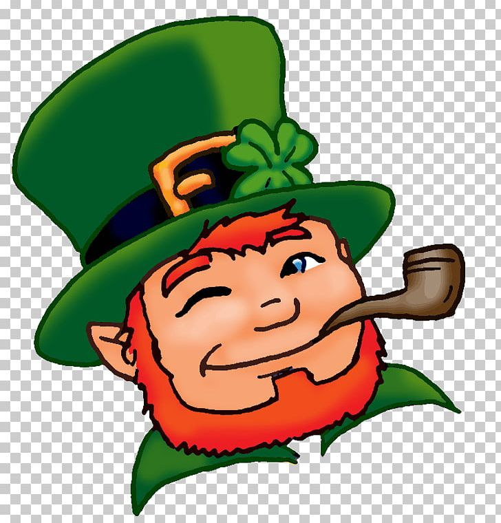 Leprechaun Saint Patricks Day The Real St. Patrick Shamrock PNG, Clipart, Artwork, Child, Elf, Fictional Character, Food Free PNG Download