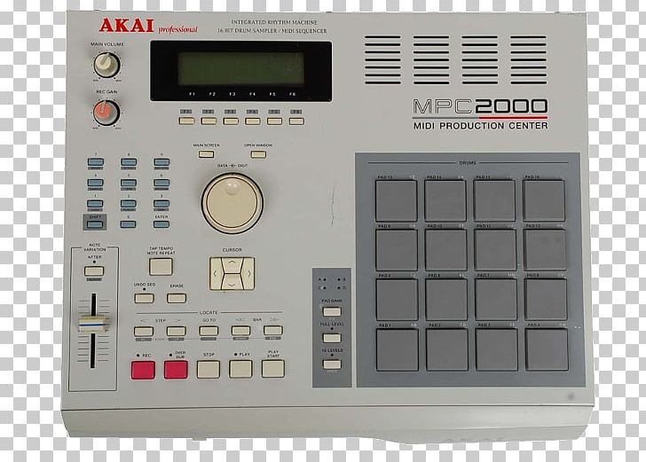 Akai MPC 2000 Sampler Music Sequencer PNG, Clipart, Ableton