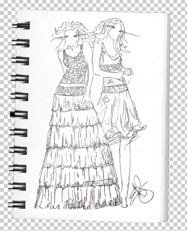 Fashion Design Dress Drawing Sketch Png Clipart Art Artwork Black And White Casual Clothing Free Png