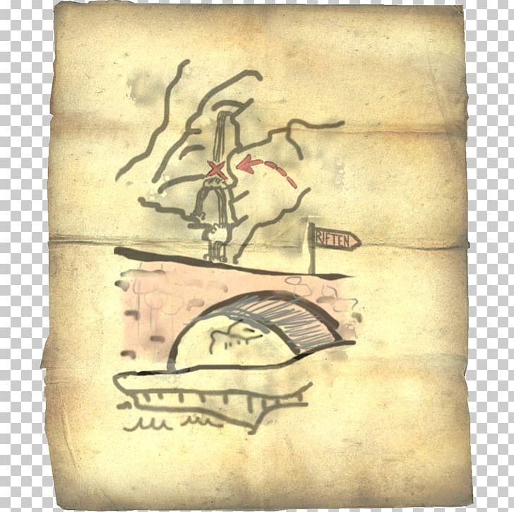 The Elder Scrolls V: Skyrim Treasure Map The Elder Scrolls ...