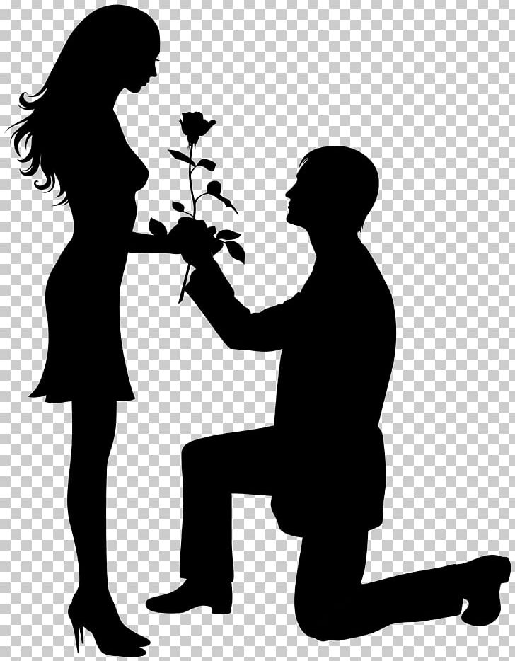Silhouette Valentine's Day First-Time Valentine Craft PNG, Clipart, Black And White, Clip Art, Clipart, Communication, Conversation Free PNG Download
