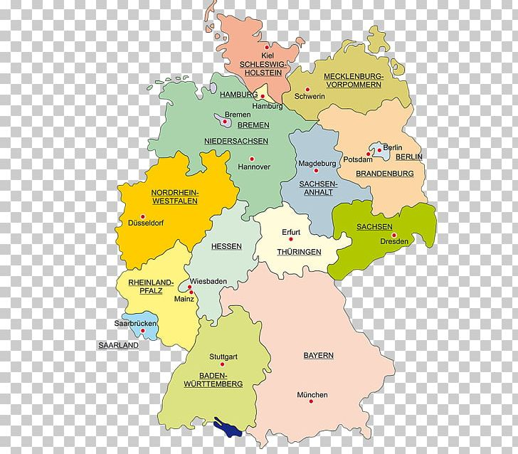 Capital Of Germany Map.States Of Germany Wittenberg Saxony Map Bavaria Png Clipart