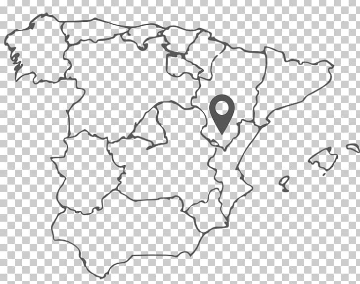 Spain Blank Map Geography Coloring Book PNG, Clipart ...