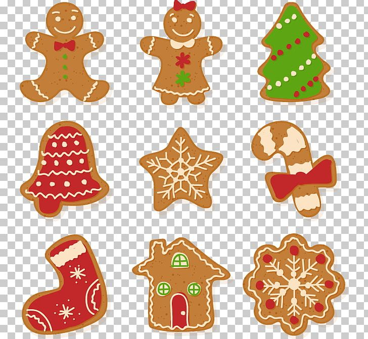Christmas Cookie Clipart.Christmas Cookie Gingerbread Euclidean Png Clipart