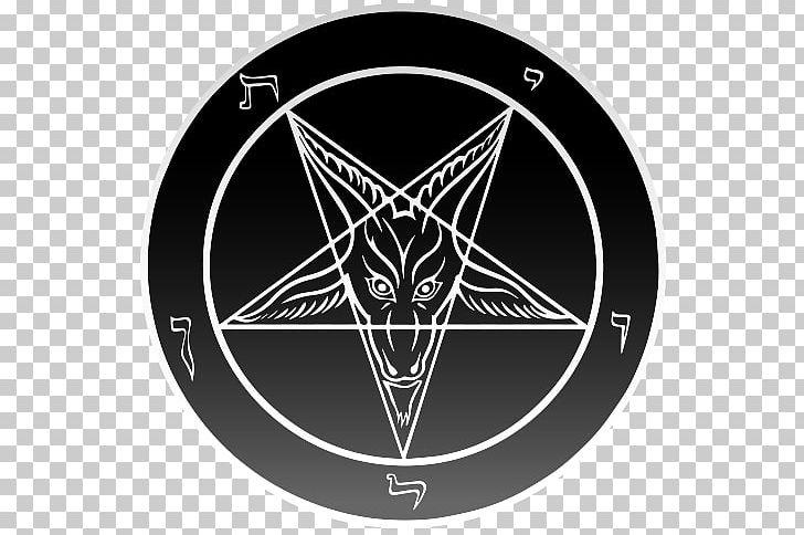 Church Of Satan Sigil Of Baphomet Pentagram Satanism PNG, Clipart, Baphomet, Black, Black And White, Brand, Church Of Satan Free PNG Download