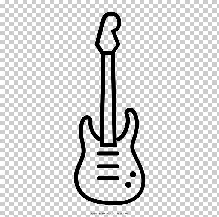 Electric Guitar String Instruments Musical Instruments Line Art PNG, Clipart, Black And White, Coloring Book, Drawing, Electric Guitar, Finger Free PNG Download