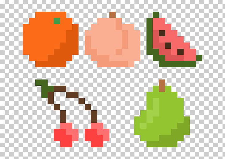 Pixel C Fruit Pixel Art Png Clipart 8bit Color Area Art Auglis Deviantart Free Png Download