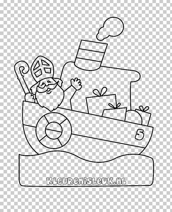 Kleurplaten Studio 100 Sinterklaas.Pakjesboot 12 Kleurplaat Sinterklaas Drawing Steamboat Png