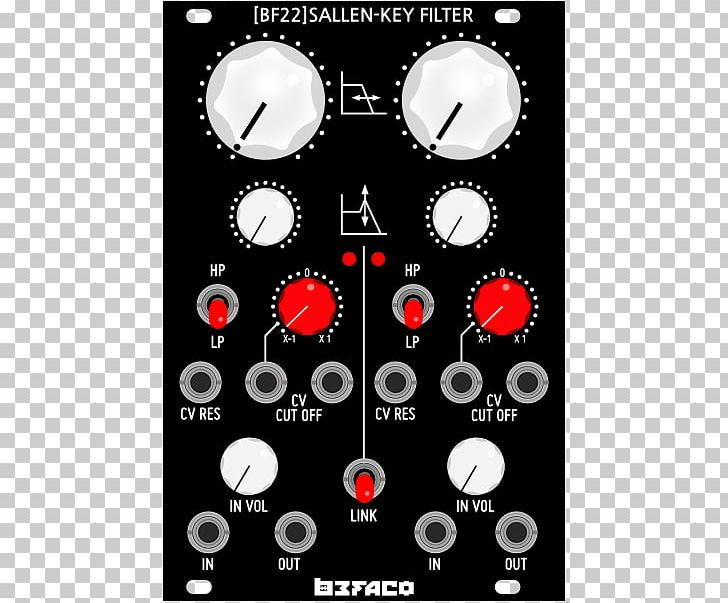 Sallen–Key Topology Korg MS-20 Voltage-controlled Filter Low-pass Filter Doepfer A-100 PNG, Clipart, Attenuator, Bandpass Filter, Black Noise Industries, Doepfer A100, Do It Yourself Free PNG Download