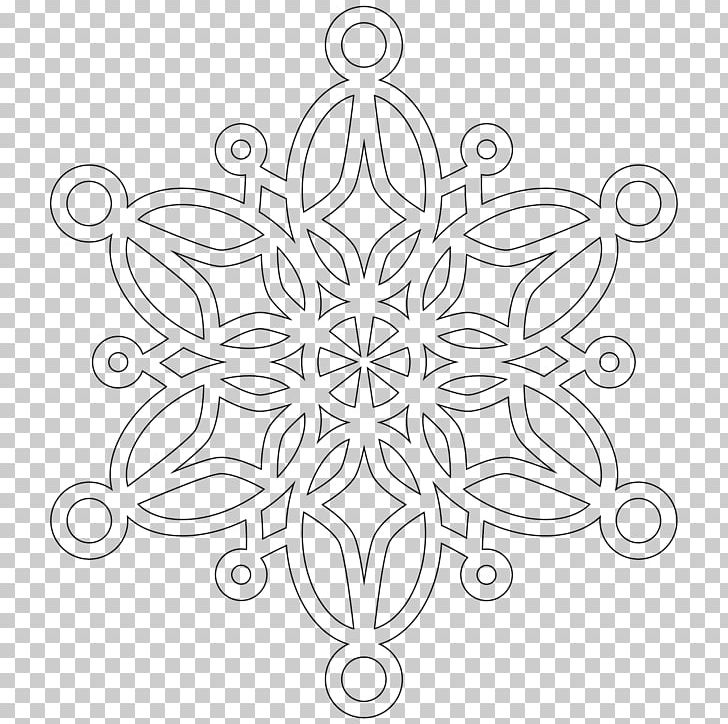 Snowflake Mandala Coloring Book PNG, Clipart, Adult, Artwork, Black ...