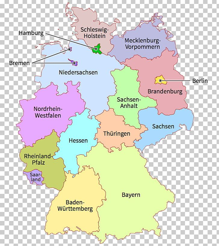 States Of Germany Map Shapefile Png Clipart Area Districts Of Germany Ecoregion File Viewer Germany Free