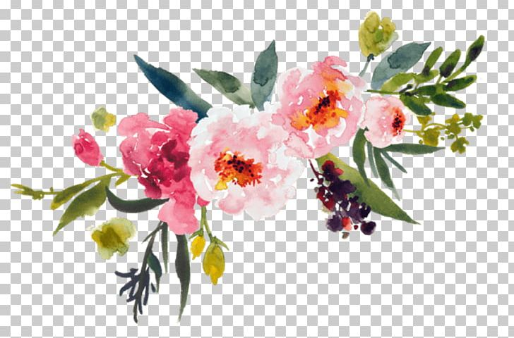 Watercolor Painting Flower Bouquet PNG, Clipart, Art, Blossom, Branch, Cherry Blossom, Clip Art Free PNG Download