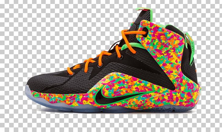 99451dfe8834 Basketball Shoe Nike Lebron 15  Fruity Pebbles  Mens Sneakers PNG ...