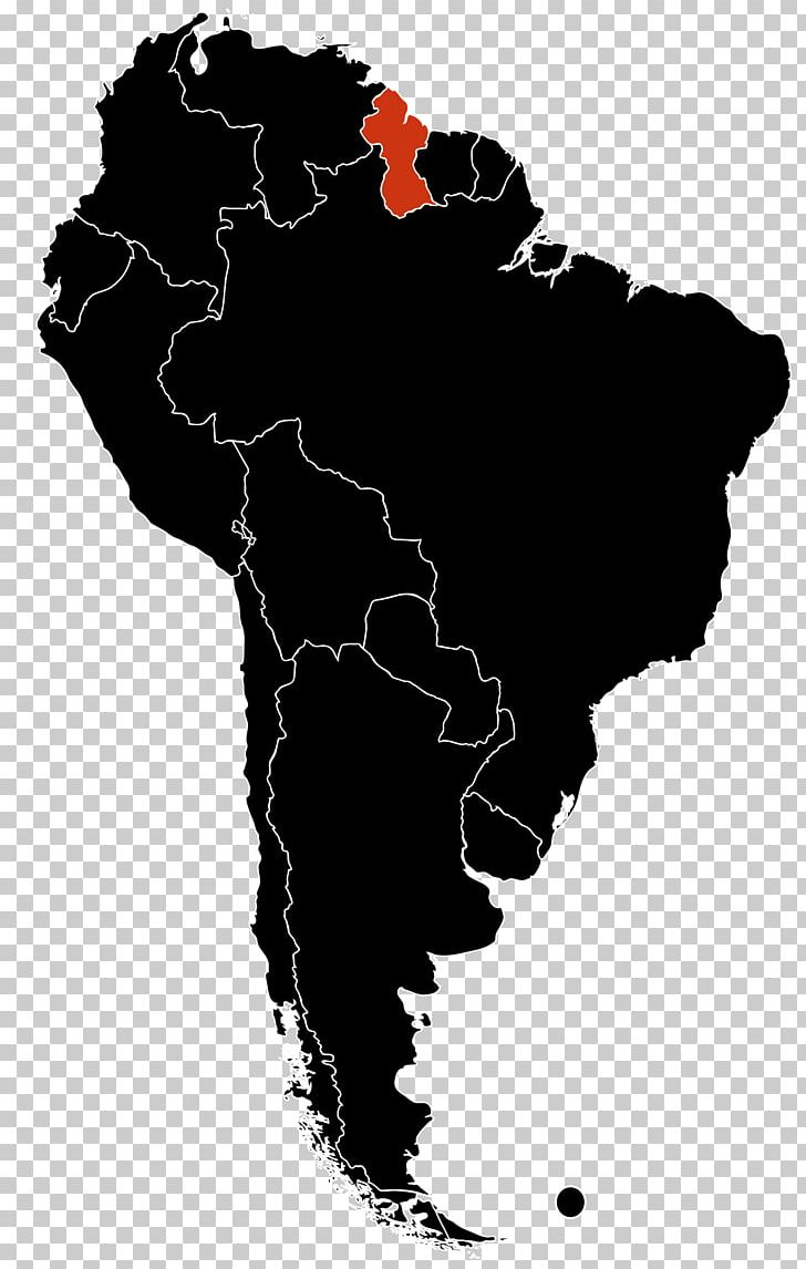 Latin America The Guianas Southern Cone Region Geography PNG ...