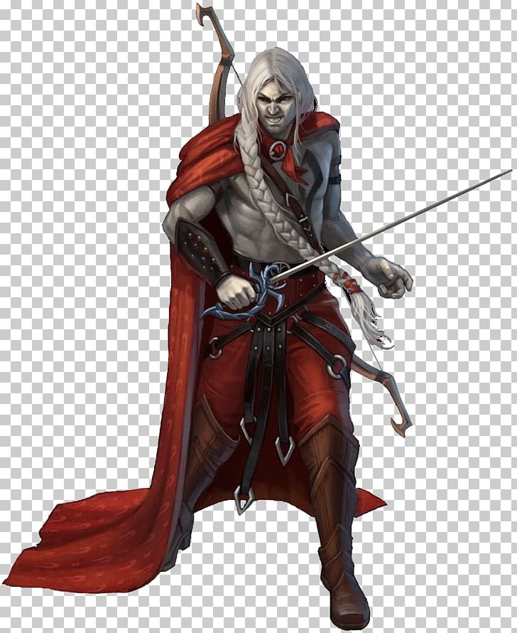 Pathfinder Roleplaying Game Non-player Character Sorcerer Drow PNG