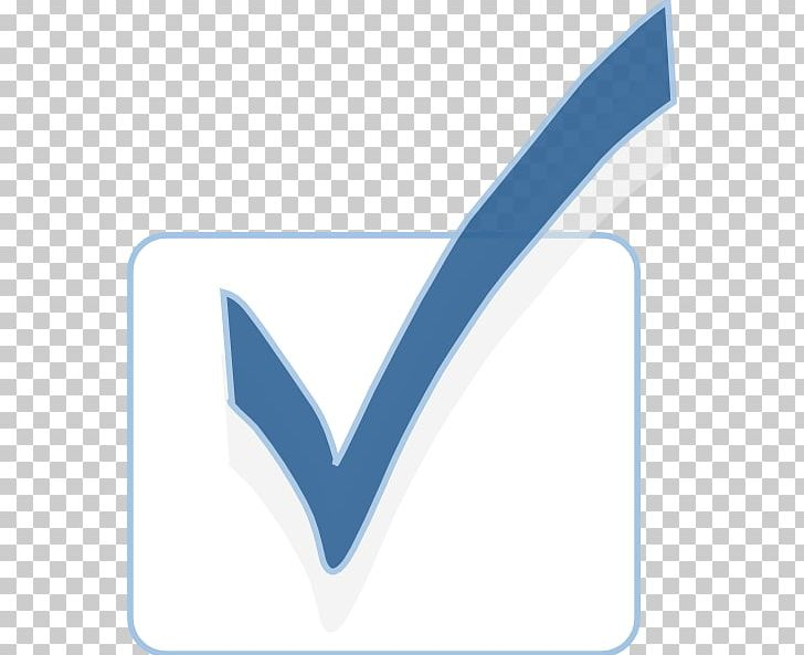 Check Mark Checkbox Computer Icons PNG, Clipart, Angle, Blue, Brand, Button, Checkbox Free PNG Download