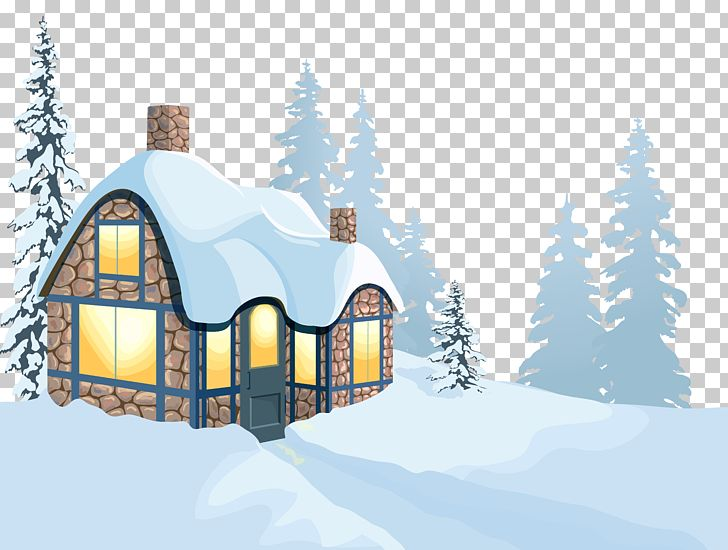 Winter House Snow PNG, Clipart, Clipart, Clip Art, Cottage, Design, Elevation Free PNG Download