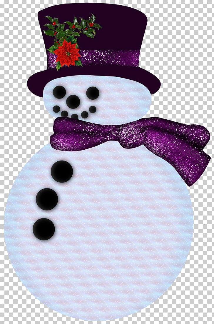 Snowman purple. Hat png clipart christmas
