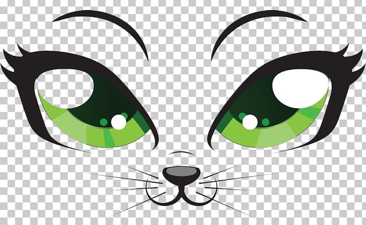 Kitten Cartoon Eye Png Clipart Animal Animals Cat Like Mammal