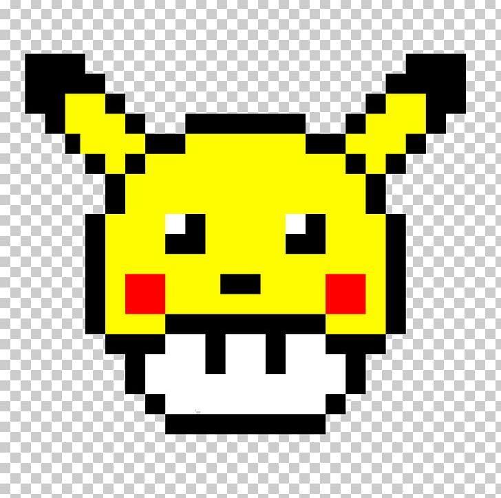 Pikachu Mario Pixel Art Pokémon Minecraft Png Clipart