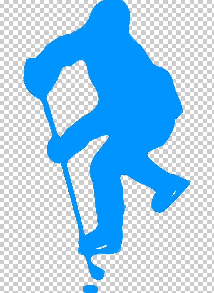 Vector silhouette of field hockey player with a hockey stick. Silhouette of  field hockey player with a hockey stick. vector