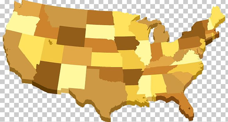 United States Map Png Clipart 3 D 3 D Map 3d Computer Graphics - Free-3d-us-map