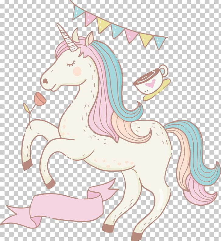 Unicorn Illustration PNG, Clipart, Birthday Party, Bunting, Cartoon, Diagram, Drawn Free PNG Download