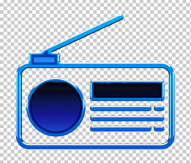 Radio Icon UI Icon PNG, Clipart, Electric Blue, Line, Radio, Radio Icon, Technology Free PNG Download