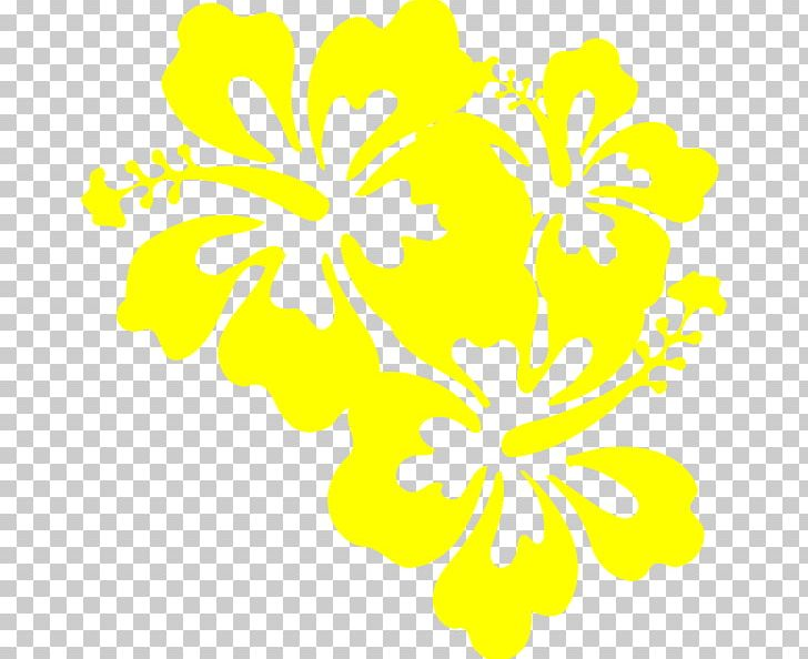 Hibiscus Tea Yellow Hibiscus Png Clipart Art Artwork Black And
