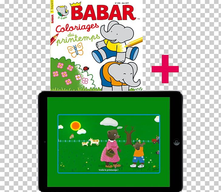 Game Telephony Babar The Elephant Line Png Clipart