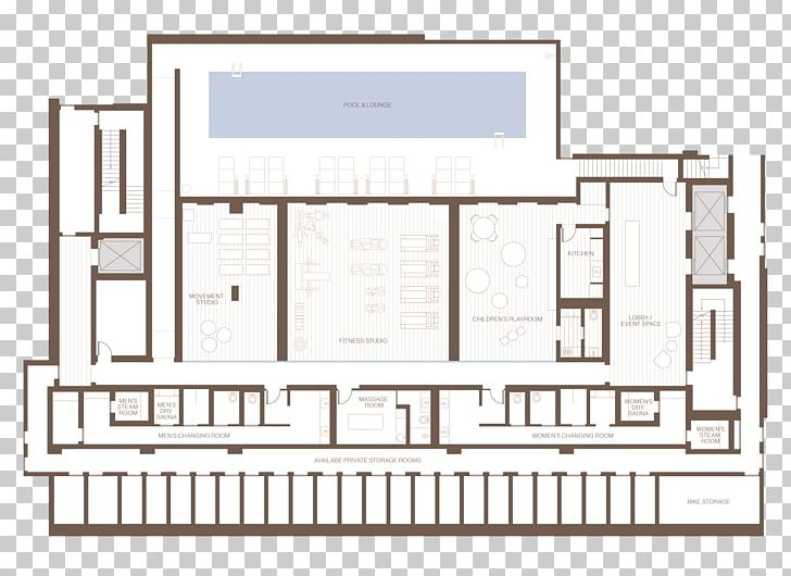 Hotel Architectural Plan Swimming Pool