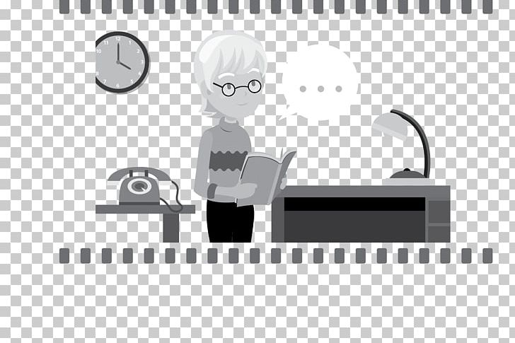 Woman Reading Telephone PNG, Clipart, Angle, Black, Black And White, Book, Brand Free PNG Download