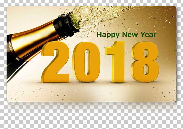 New Year's Day Wish Christmas Desktop PNG, Clipart, 2018, Alcoholic Beverage, Beer Bottle, Bottle, Brand Free PNG Download