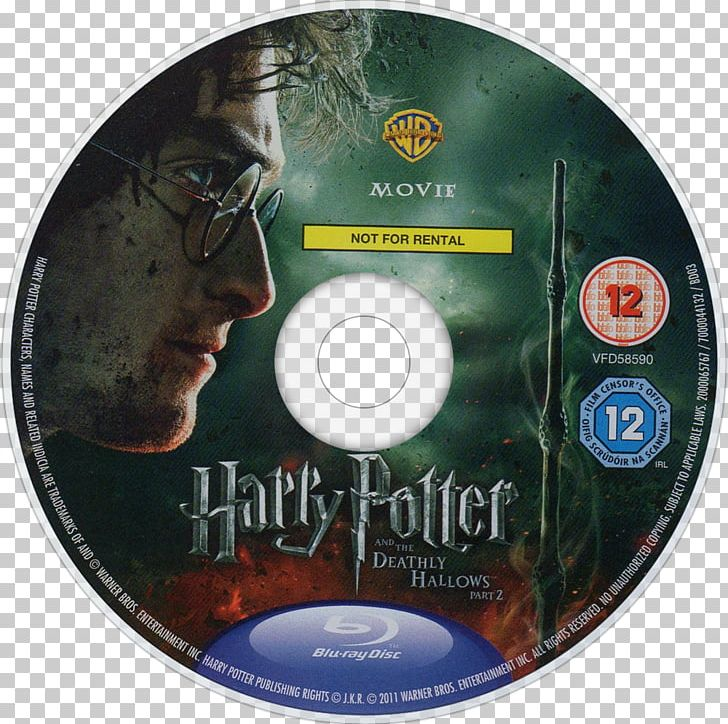 Compact Disc Harry Potter And The Deathly Hallows Blu-ray