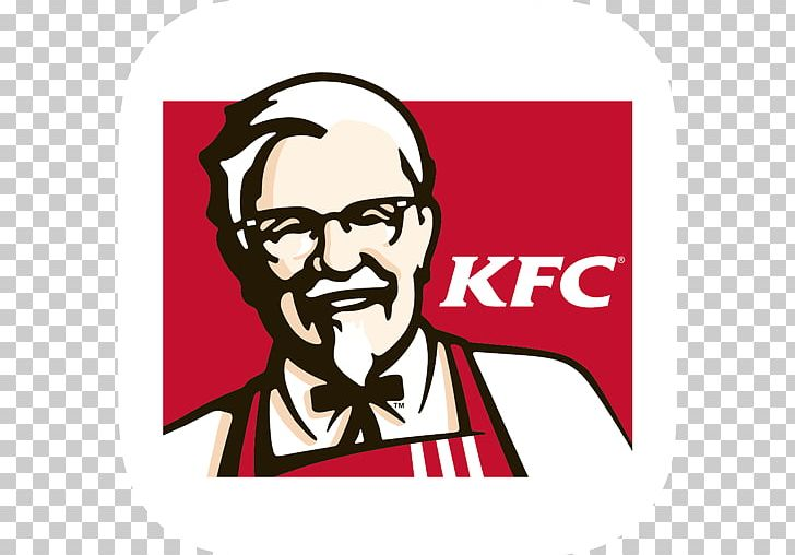 KFC Fast Food Fried Chicken Restaurant Logo PNG, Clipart, Area, Art, Brand, Cartoon, Facial Hair Free PNG Download