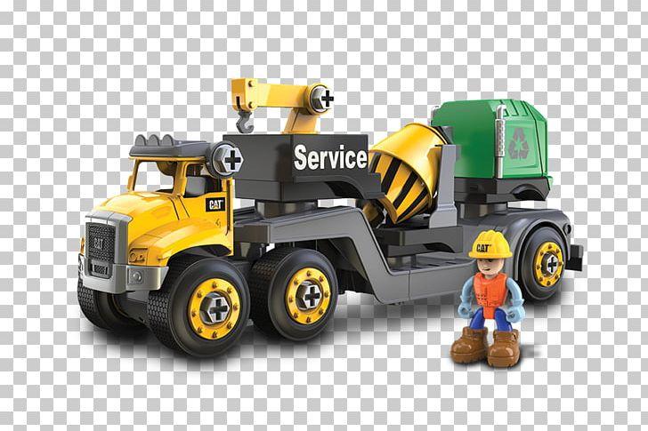 Caterpillar Inc. Toy Machine Construction Set Truck PNG, Clipart, Bulldozer, Caterpillar Inc, Cement Mixer, Construction Equipment, Construction Set Free PNG Download