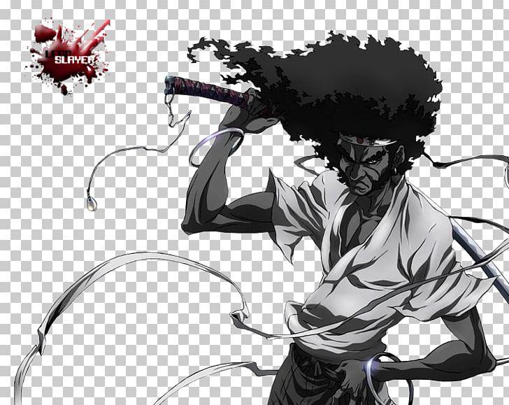 Afro Samurai Samurai Cinema Film Png Clipart Afro Afro Samurai Resurrection Anime Art Black And White
