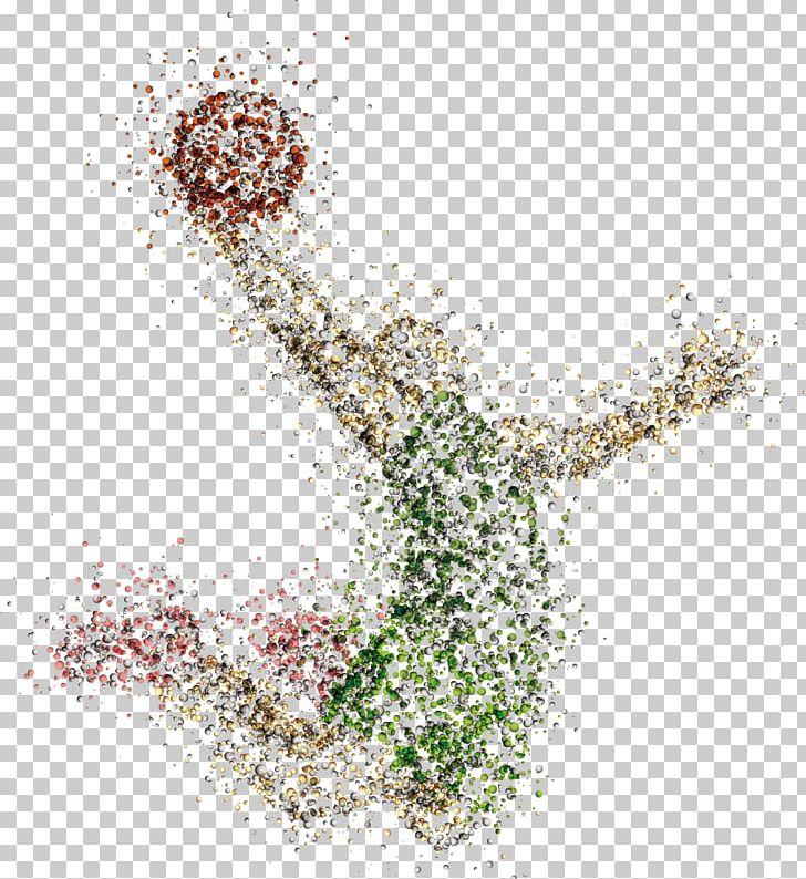 Abstract Art Basketball Image
